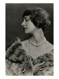 Vanity Fair - January, 1925 Premium Photographic Print by Nickolas Muray