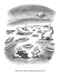 """We seem to have similar life experiences."" - New Yorker Cartoon Premium Giclee Print by Frank Cotham"