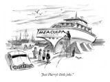 """Just Harry's little joke."" - New Yorker Cartoon Premium Giclee Print by Lee Lorenz"