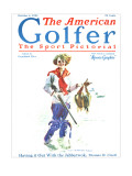 The American Golfer October 4, 1924 Premium Giclee Print by James Montgomery Flagg