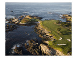 Cypress Point Gol Course Hole 16 and 17 Premium Photographic Print by Stephen Szurlej