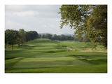 Oakmont Country Club, Hole 18 Regular Photographic Print by Stephen Szurlej