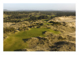 Bandon Trails Golf Course, Hole 1 Premium Photographic Print by J.D. Cuban