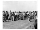 Walter Hagen, 1933 British Open Regular Photographic Print by Unknown Unknown