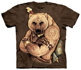 Tribal Bear T-shirts