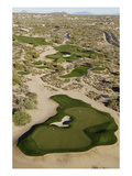 Desert Mountain Renegade Course, Hole 6 Premium Photographic Print by J.D. Cuban