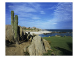 Cabo del Sol Golf Club, Hole 17 Regular Photographic Print by Stephen Szurlej