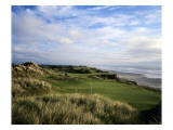 Pacific Dunes Golf Course, Hole 11 Premium Photographic Print by Stephen Szurlej