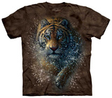 Tiger Splash T-shirts
