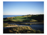 Whistling Straits Golf Club, Hole 11 Premium Photographic Print by Stephen Szurlej