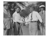 Bobby Jones, 1925 U.S. Amateur at Oakmont Country Club Regular Photographic Print by Unknown Unknown