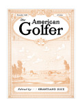 The American Golfer November 1928 Regular Giclee Print by Unknown Unknown