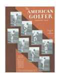 The American Golfer February 1929 Premium Giclee Print by Unknown Unknown