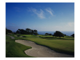 Torrey Pines Municipal G.Cse., Hole 2 Premium Photographic Print by Stephen Szurlej