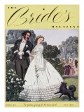 Brides Cover - February, 1937 Regular Giclee Print by Unknown Unknown
