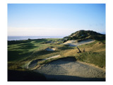 Pacific Dunes Golf Course, Hole 13 Premium Photographic Print by Stephen Szurlej