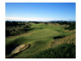 Pacific Dunes Golf Course, Hole 16 Premium Photographic Print by Stephen Szurlej