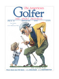 The American Golfer April 23, 1921 Premium Giclee Print by James Montgomery Flagg