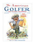 The American Golfer June 28, 1924 Premium Giclee Print by James Montgomery Flagg