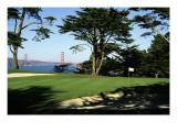 Lincoln Park Golf Course, Hole 17 Regular Photographic Print by Stephen Szurlej