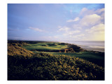 Bandon Dunes Golf Course, Hole 16 Premium Photographic Print by Stephen Szurlej