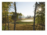 Osprey Meadows Golf Course, Hole 16 bunker Premium Photographic Print by Stephen Szurlej