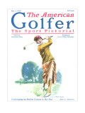 The American Golfer May 2, 1925 Regular Giclee Print by James Montgomery Flagg