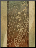 Tall Grasses II Mounted Print by Eloise Ball