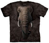 Elephant Face T-Shirt