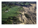 Torrey Pines Municpal Golf Course, Hole 4 Premium Photographic Print by J.D. Cuban