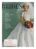 Brides Cover - April, 1961 Premium Giclee Print by Peter Oliver