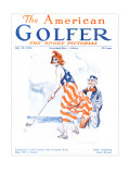 The American Golfer July 12, 1924 Premium Giclee Print by James Montgomery Flagg