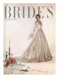 Brides Cover - October, 1948 Premium Giclee Print by Ernst Beadle