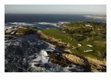 Cypress Point Golf Course, Hole 17 Premium Photographic Print by J.D. Cuban
