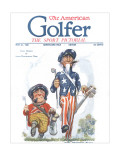 The American Golfer May 21, 1921 Regular Giclee Print by James Montgomery Flagg