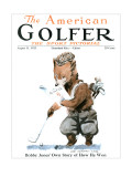 The American Golfer August 11, 1923 Regular Giclee Print by James Montgomery Flagg