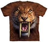Sabertooth Face T-shirts