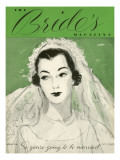 Brides Cover - April, 1936 Regular Giclee Print by Unknown Unknown