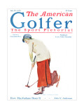 The American Golfer July 25, 1925 Premium Giclee Print by James Montgomery Flagg