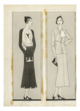 Vogue - January 1932 Regular Giclee Print by Douglas Pollard