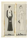 Vogue - January 1932 Giclee Print by Douglas Pollard