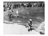 Bobby Jones, 1926 British Open at Royal Lytham & St. Annes Golf Club Premium Photographic Print by Unknown Unknown
