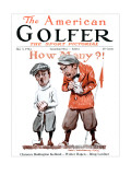 The American Golfer May 3, 1924 Premium Giclee Print by James Montgomery Flagg