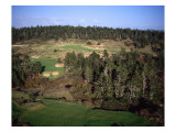 Bandon Trails Golf Course, Holes 5 and 16 Premium Photographic Print by J.D. Cuban