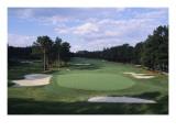 Pinehurst Golf Course No. 2, Hole 16 Regular Photographic Print by Stephen Szurlej