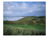 Doonbeg Golf Club, Holes 13 and 6 Premium Photographic Print by Stephen Szurlej