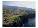 The Challenge at Manele, Hole 13 Premium Photographic Print by Stephen Szurlej