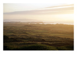 Royal Portrush Golf Club sunrise Regular Photographic Print by Stephen Szurlej