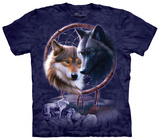 Dreamcatcher Wolves T-shirts