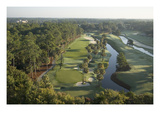 TPC Sawgrass Stadium Course, Hole 6 Regular Photographic Print by Stephen Szurlej